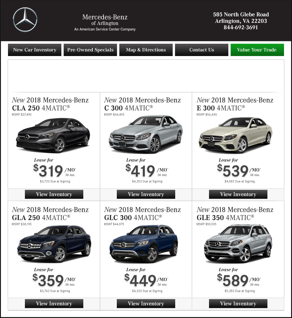 mercedes-benz of arlington | new mercedes-benz dealership in